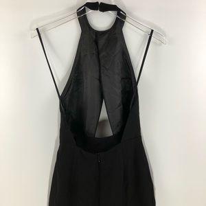 Nasty Gal Dresses - Nasty Gal • Black halter neck Evening Dress